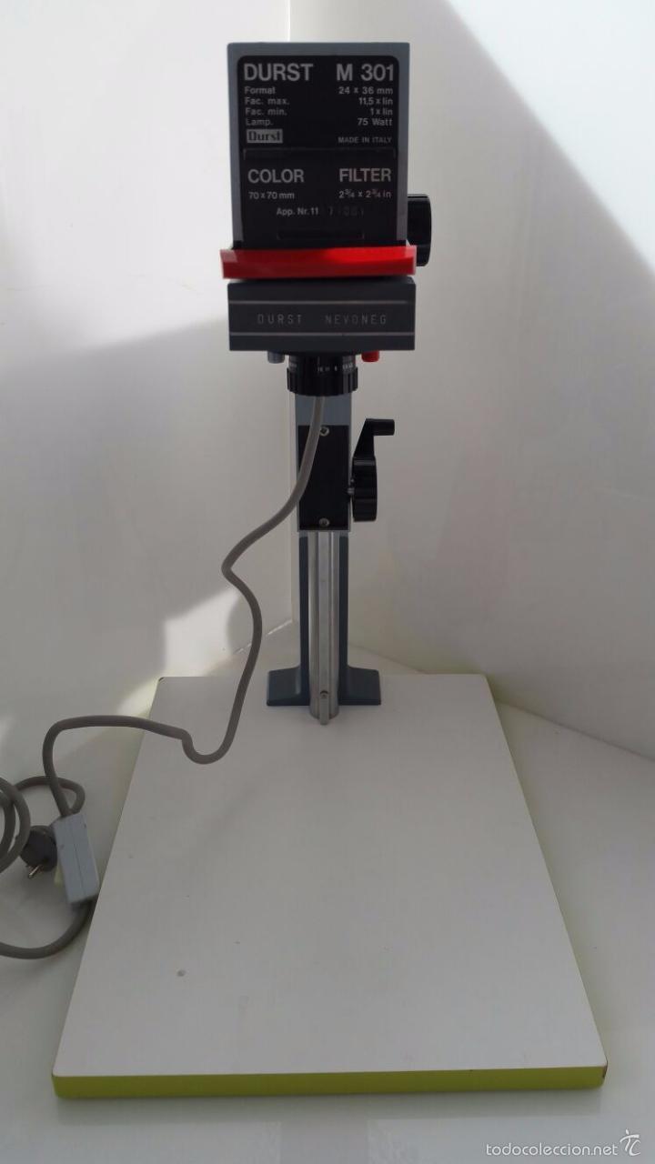 AMPLIFICADOR DE FOTOS PROFESIONAL - DURST - M 301 - 35MM (Antigüedades - Técnicas - Otros Instrumentos Ópticos Antiguos)