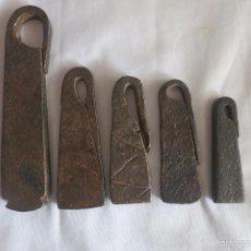 Antiquités: LOTE DE PESAS EN LIBRAS ESPAÑOLAS. Lote 55404682