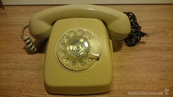 ANTIGUO TELEFONO HERALDO DE TELEFONICA (Antigüedades - Técnicas - Teléfonos Antiguos)