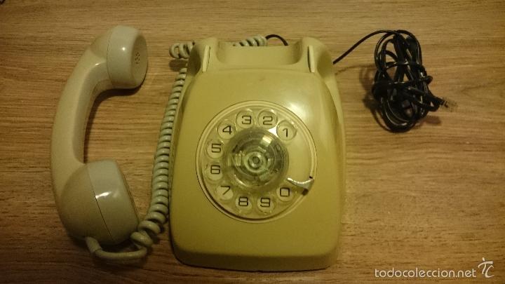 Teléfonos: ANTIGUO TELEFONO HERALDO DE TELEFONICA - Foto 3 - 55407612