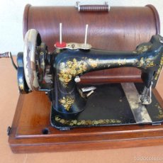 Antigüedades: MAQUINA COSER SINGER MANUAL 1887. Lote 55572112