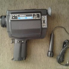 Antigüedades: CÁMARA SUPER 8 -- KOHKA (SUPER 8) -- XL200 SOUND -- SET COMPLETO --. Lote 108257810