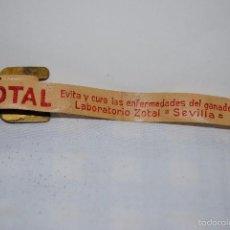 Antigüedades: CINTA PARA MEDIR, ZOTAL . Lote 55697406