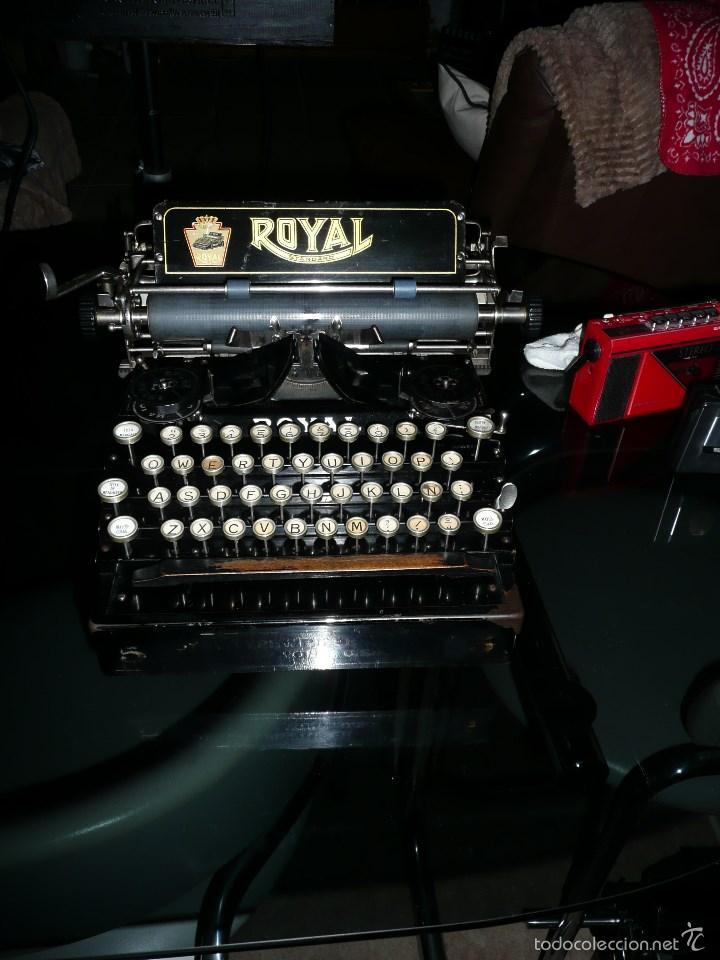 MAQUINA ESCRIBIR ROYAL (Antigüedades - Técnicas - Máquinas de Escribir Antiguas - Royal)