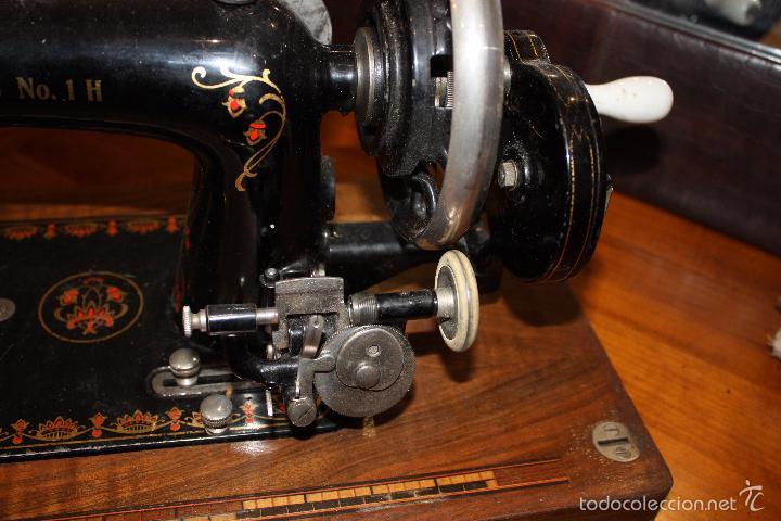 Antigüedades: MAQUINA DE COSER HARRIS Nº 1 - Foto 6 - 33376340