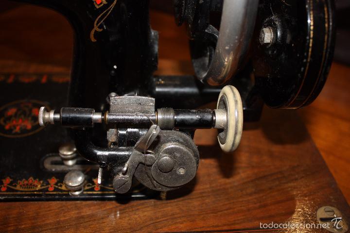 Antigüedades: MAQUINA DE COSER HARRIS Nº 1 - Foto 8 - 33376340