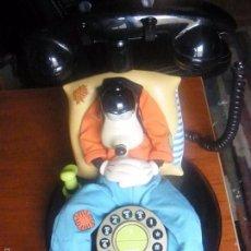 Teléfonos: TELEFONO DISNEY GOOFY FUNCIONANDO. Lote 56002460