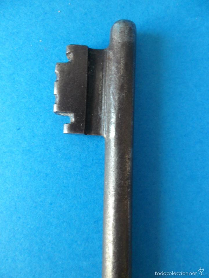 Antigüedades: Antigua llave de Forja o similar - Metal - Ideal Coleccionistas o Restauradores - Foto 5 - 56002519