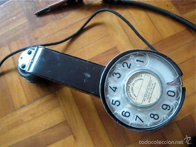 ANTIGUO TELÉFONO CENTRALITA - COMPAÑIA TELEFÓNICA NACIONAL DE ESPAÑA ( TELEFÓNICA ) (Antigüedades - Técnicas - Teléfonos Antiguos)