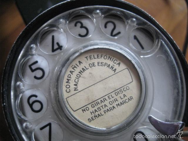 Teléfonos: Antiguo teléfono centralita - Compañia Telefónica Nacional de España ( Telefónica ) - Foto 2 - 56012011