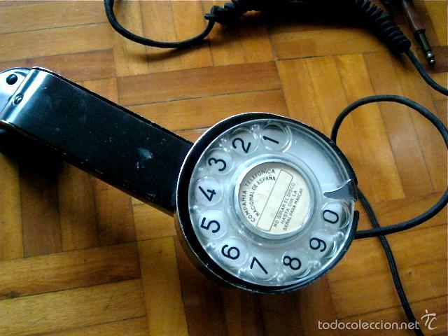 Teléfonos: Antiguo teléfono centralita - Compañia Telefónica Nacional de España ( Telefónica ) - Foto 10 - 56012011