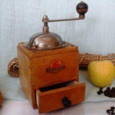 Antigüedades: VIEJO MOLINILLO DE CAFÉ MARCA ZASSENHAUS. ORIGEN ALEMÁN:. Lote 56047024