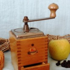 Antigüedades: VIEJO MOLINILLO DE CAFÉ MARCA ZASSENHAUS. ORIGEN ALEMÁN:. Lote 56047427