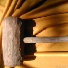 Antigüedades: MAZA DE MADERA DE PRINCIPIOS SIGLO VEINTE. Lote 56086046