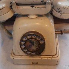 Teléfonos: ANTIGUO TELÉFONO METÁLICO. Lote 56095242