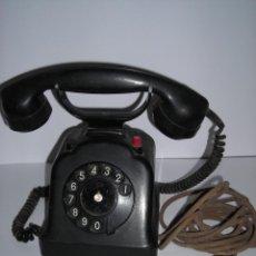 Teléfonos: TELEFONO ANTIGUO BAQUELITA, AÑOS 1930, SOBREMESA. Lote 56100950