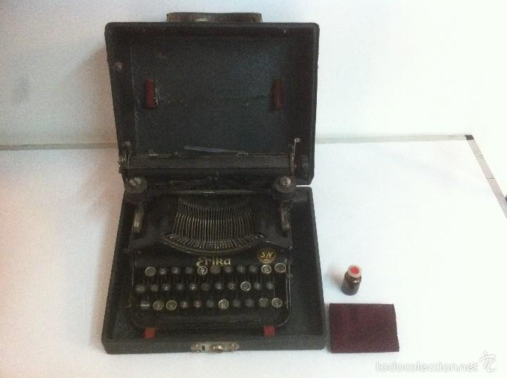 MAGINIFICA MAQUINA DE ESCRIBIR ERIKA S&N ANTIGUA (Antigüedades - Técnicas - Máquinas de Escribir Antiguas - Erika)