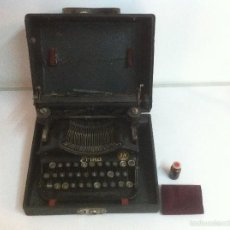 Antigüedades: MAGINIFICA MAQUINA DE ESCRIBIR ERIKA S&N ANTIGUA. Lote 56101342
