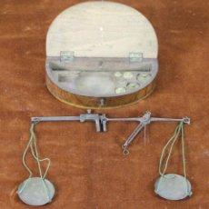 Antigüedades: KILATERA. BALANZA DE PRECISION PARA ORO. CAJA ORIGINAL. SIGLO XIX. . Lote 88134362