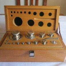 Antiques - caja de pesas calibradas - 56115171