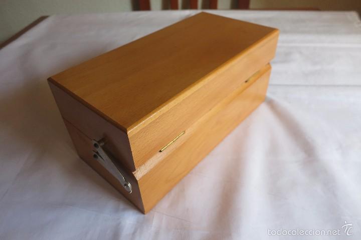 Antigüedades: caja de pesas calibradas - Foto 7 - 56115171