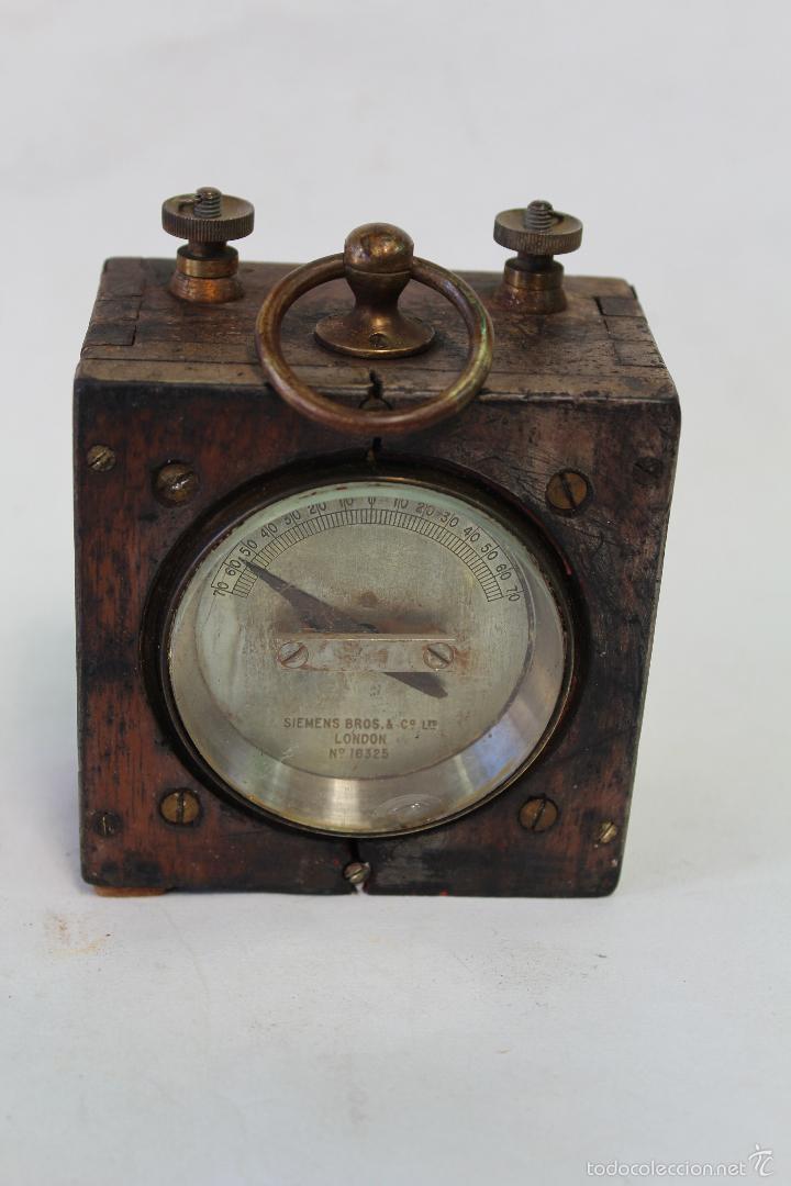 CONMUTADOR ELECTRICO ANTIGUO SIEMENS BROS & Cº LTD.LONDON Nº16325 (Antigüedades - Técnicas - Herramientas Profesionales - Electricidad)