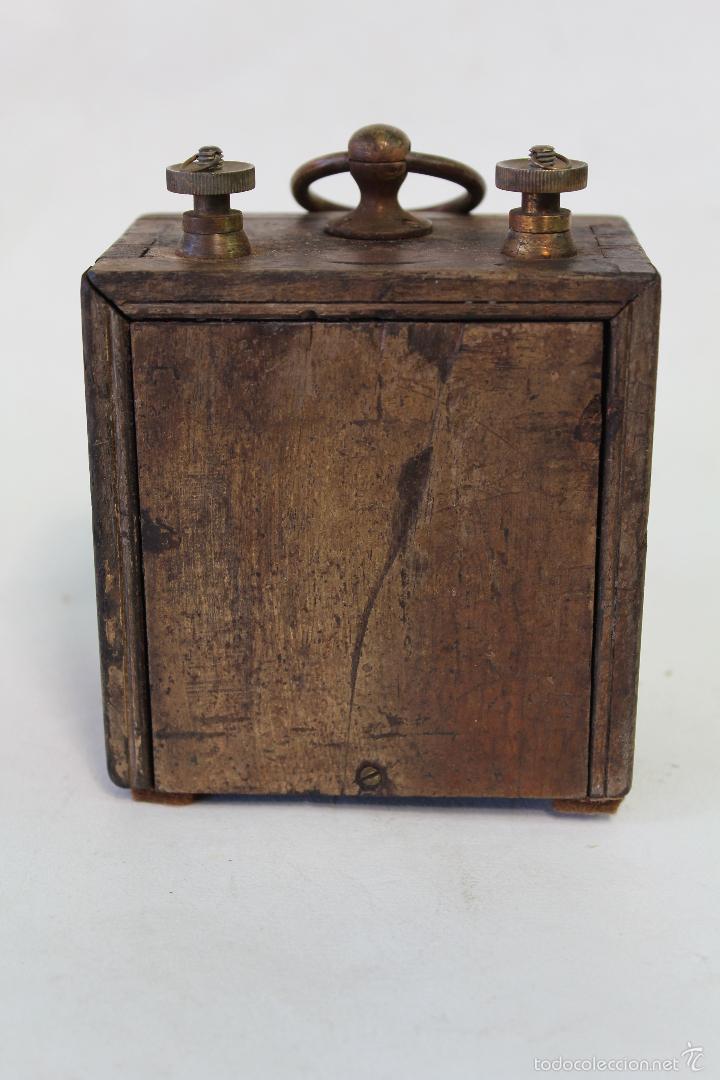 Antigüedades: conmutador electrico antiguo siemens bros & cº ltd.london nº16325 - Foto 3 - 56132497