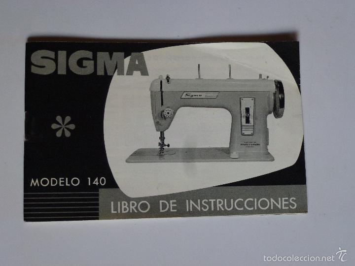 Manual Instrucciones Sigma Modelo 140 Año 196 Sold Through Direct Sale 56182764