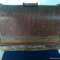 Antigüedades: MAQUINA DE COSER SINGER. Lote 56185938