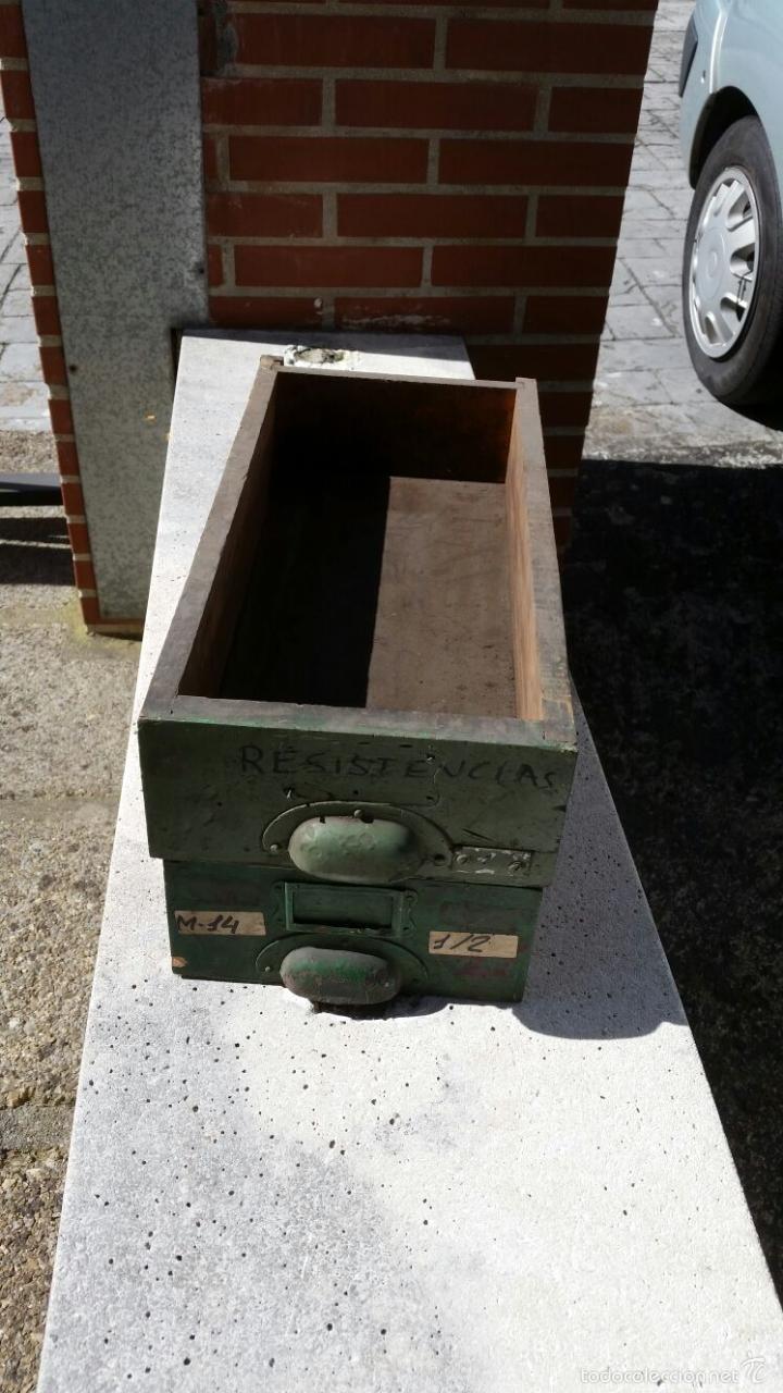 Cajones Industriales Antiguos Con Tiradores Ven Comprar Varias  ~ Tiradores Para Cajones Antiguos