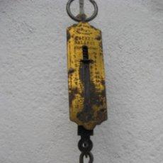 Antigüedades: BALANZA DE MUELLE. Lote 56208904
