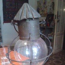 Antigüedades: FAROL DE BARCO ANTIGUO MARCA BREVETE. Lote 56233304