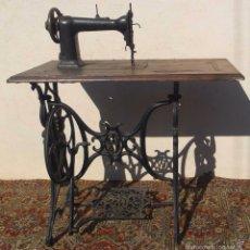 Antigüedades: MAQUINA DE COSER WERTHEIM, EUA, 1865 CON GNOMOS. Lote 56245778