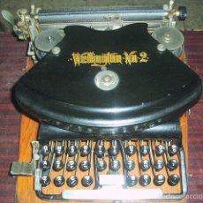 Antigüedades: MÁQUINA DE ESCRIBIR WELLINGTON SIGLO XIX (1892). Lote 56253815