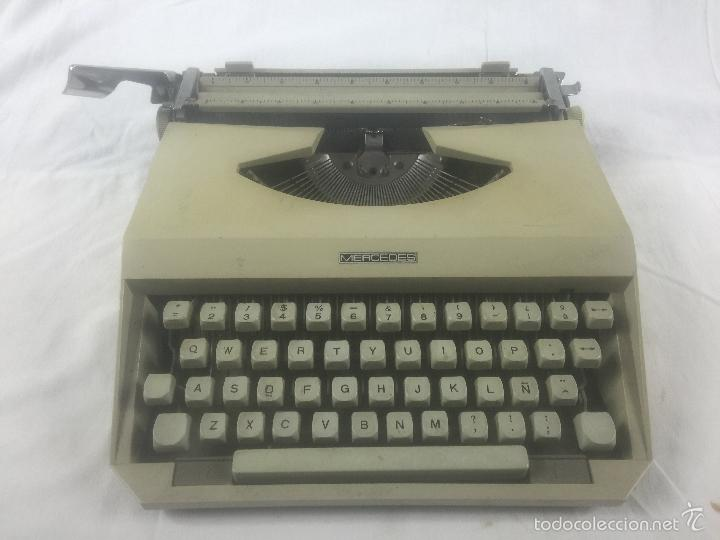 Antigüedades: maquina de escribir mercedes - Foto 2 - 56260950