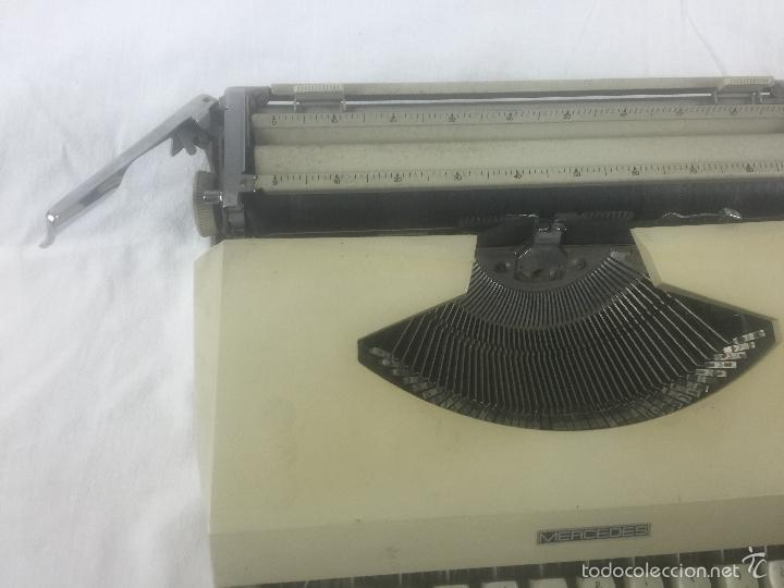 Antigüedades: maquina de escribir mercedes - Foto 3 - 56260950