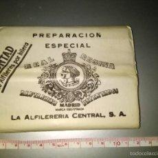 Antigüedades: PAQUETE DE ALFILERES AÑOS 50. Lote 56289629