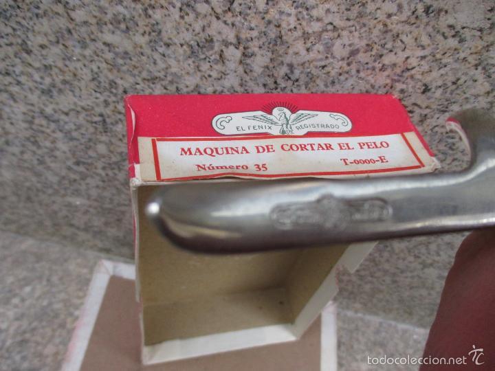 Antigüedades: CORTAPELOS MANUAL MARCA EL FENIX SIN USO 4 CEROS, ANCHO DE CORTE 35 MM 25 PUAS, años 50/60 + INFO - Foto 2 - 49643739