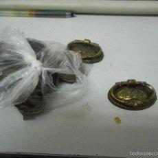 Antigüedades: LOTE TIRADORES RESTAURADORES. Lote 87093454