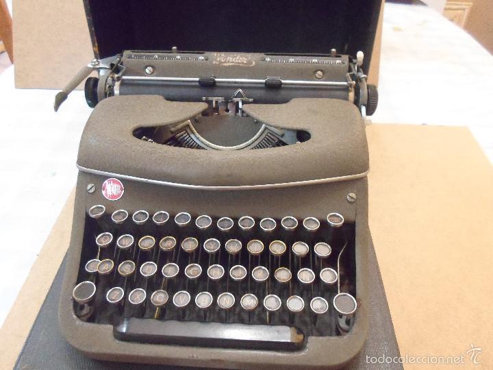 MAQUINA DE ESCRIBIR THE WONDER'S (Antigüedades - Técnicas - Máquinas de Escribir Antiguas - Otras)