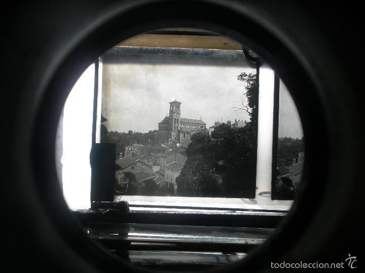 Antigüedades: RARO VISOR PERIODO DE 1900 ,ESTEREOSCOPICO, PARA PLACAS DE CRISTAL DE 6X13,CON 16 ESTEREOSCOPIAS. - Foto 22 - 56401885