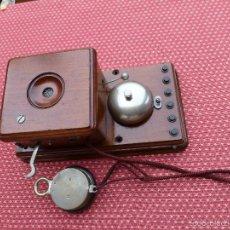 Teléfonos: ANTIGUO TELEFONO CENTRALITA, DE PRINCIPIOS DEL SIGLO XX. Lote 56414730