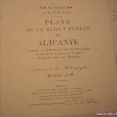 Antigüedades: CARTAS MARINA ANTIGUAS. Lote 56467887