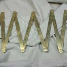 Antigüedades: METRO PLEGABLE EN CMS. 1 METRO CON FUNDA. S.XIX.. Lote 56472587