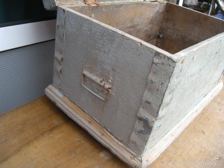 Antiguo ba l arc n caj n de madera para herrami comprar - Cajones de madera antiguos ...