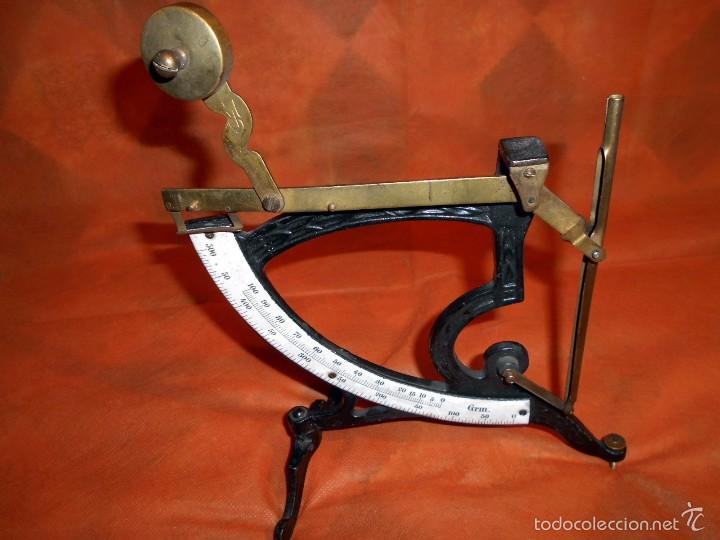PESACARTAS, MUY BIEN CONSERVADO (Antigüedades - Técnicas - Medidas de Peso Antiguas - Otras)