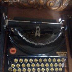 Antigüedades: ANTIGUA MAQUINA DE ESCRIBIR REMINGTON. Lote 192672368