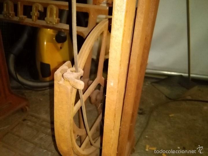 Antigüedades: maquina de coser alfa con pie - Foto 19 - 56538741