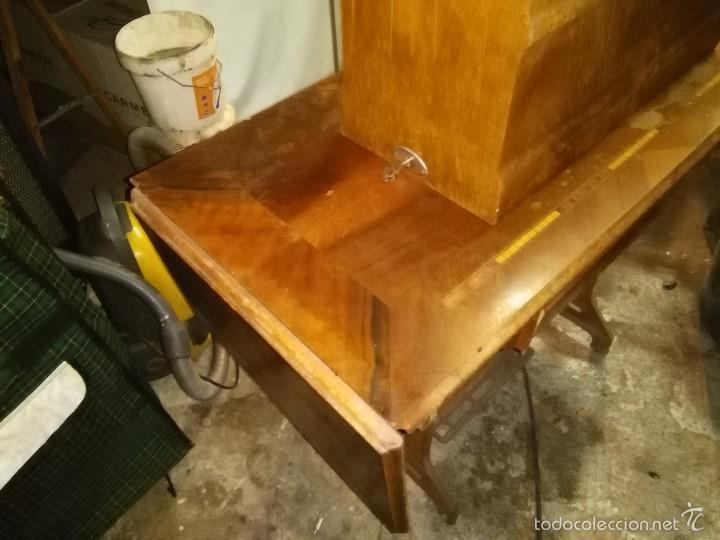 Antigüedades: maquina de coser alfa con pie - Foto 23 - 56538741