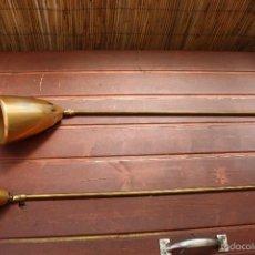 Antigüedades: ANTIGUO Y ORIGINAL FLEXO DE TECHO O MESA AJUSTABLE DE 1,40M A 60 CM. Lote 56552920